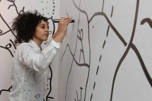 A Look Back.  ARE YOU YOU.  Shantell Martin's First Solo Show.