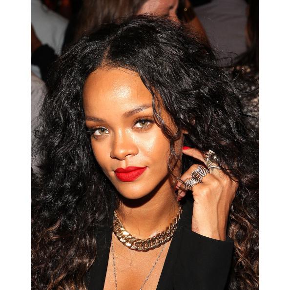 Rihanna New York Fashion Week Spring 2015