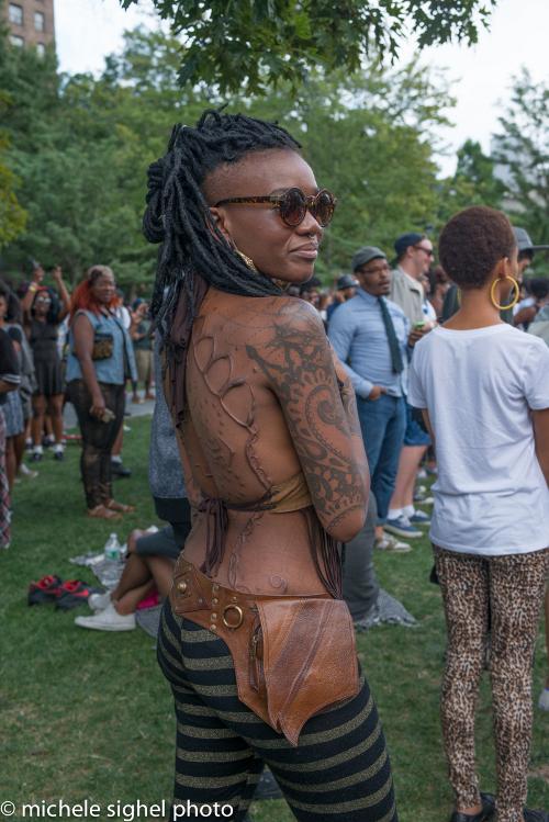 Afropunk Fest, Michele Sighel, Black Fashion, Black Street Style