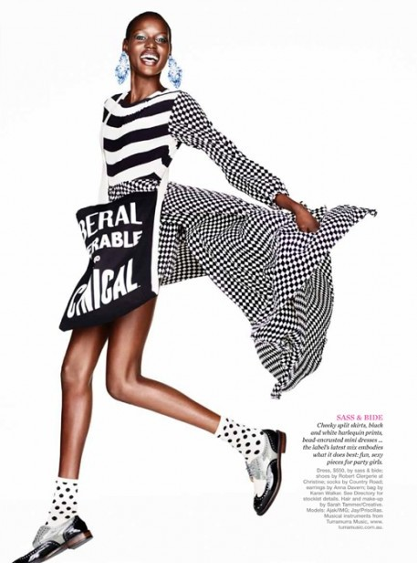 Ajak Deng, Black Fashion Models