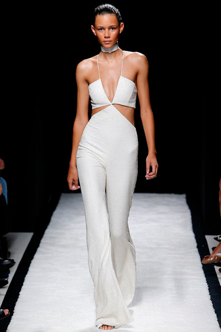 Black Fashion Models, Balmain Spring Summer 2015
