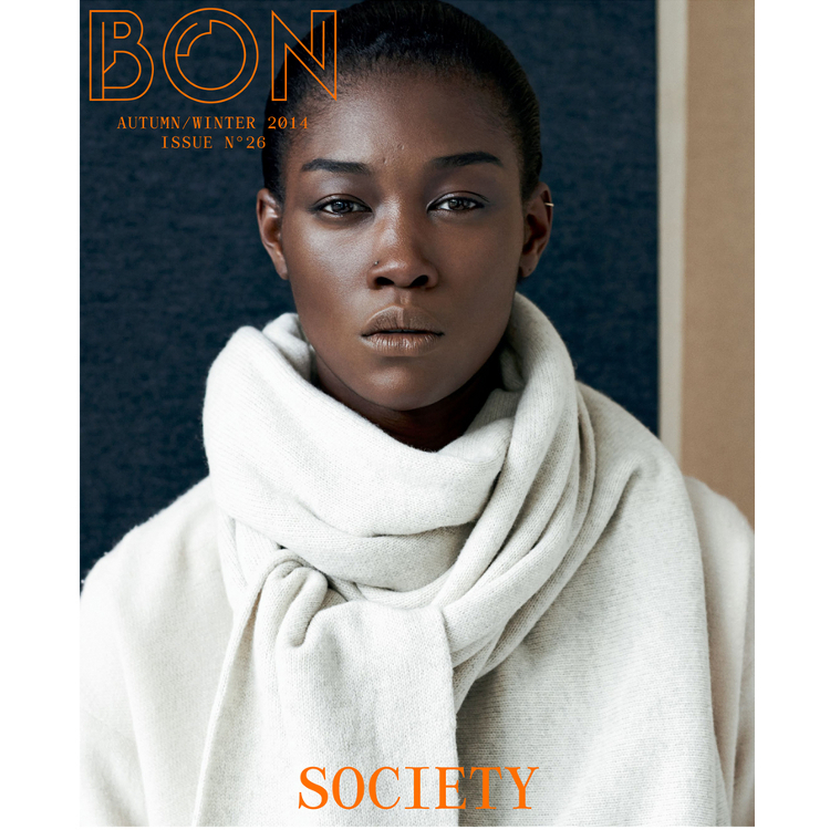 Betty Adewole, Johan Sandberg, Black Fashion Models, Bon Magazine