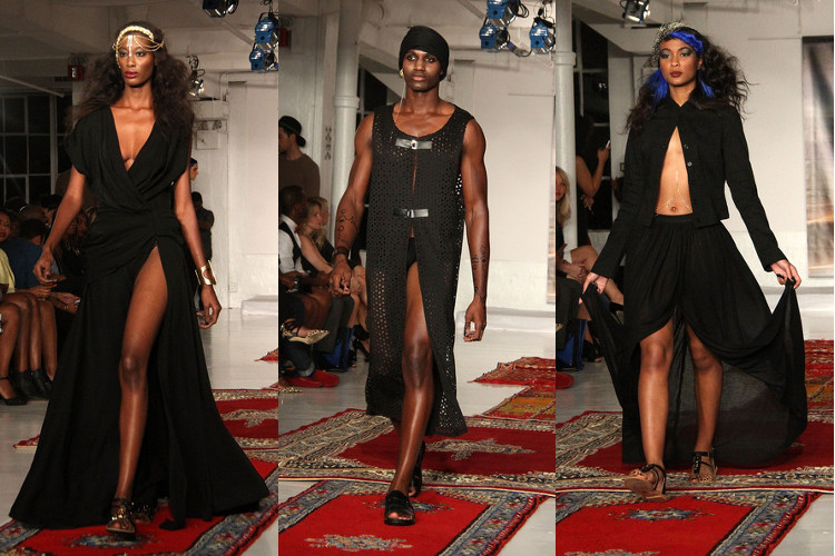 Edwing D'Angelo, Black Fashion Designers