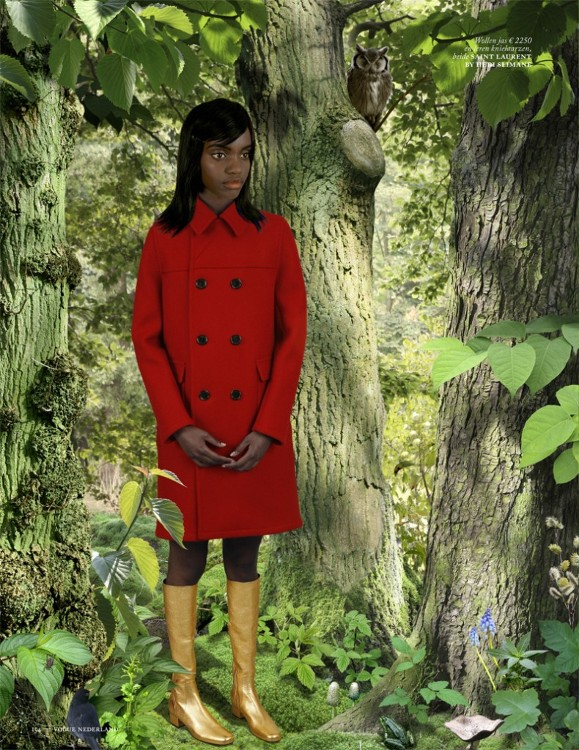 Fariya Shire, Vogue Netherlands, Ruud van Empel