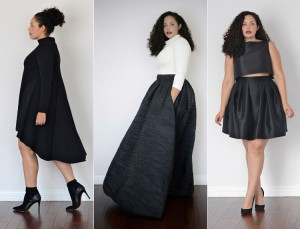 Shop It.  Girl With Curves.  The Cool Plus-Size Fashion Line Brought To You By Blogger Tanesha Awasthi.