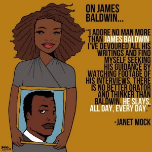 Janet Mock Collaborated With Julio Salgado To Celebrate the Writers Who Inspire Her.
