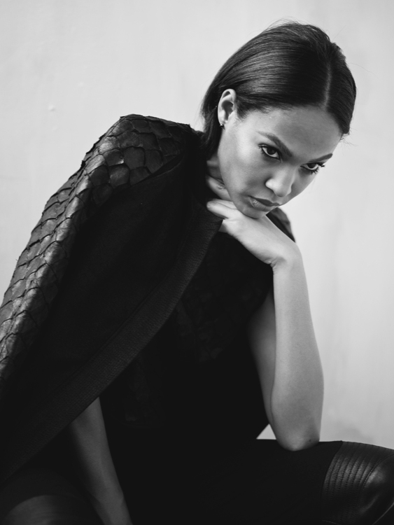 Joan Smalls, Interview Magazine, Van Sarki