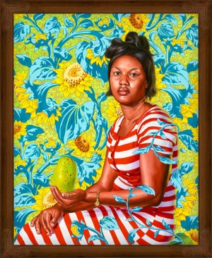 Kehinde Wiley Paints The Women of Haiti.