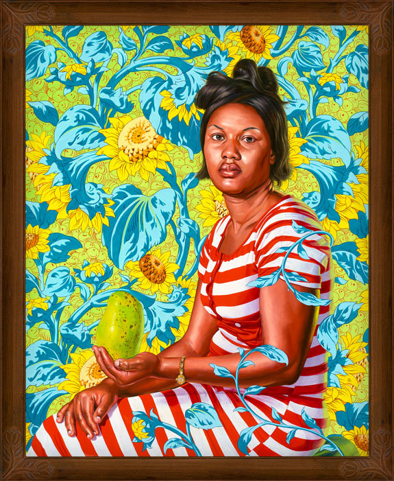 kehinde wiley paints the women of haiti. | superselected - black ...