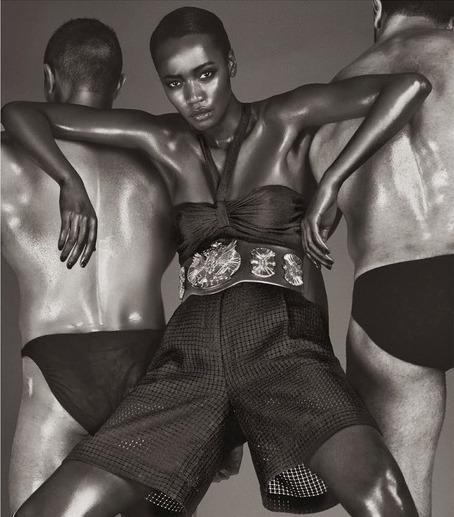 Nadja Giramata, Black Fashion Models