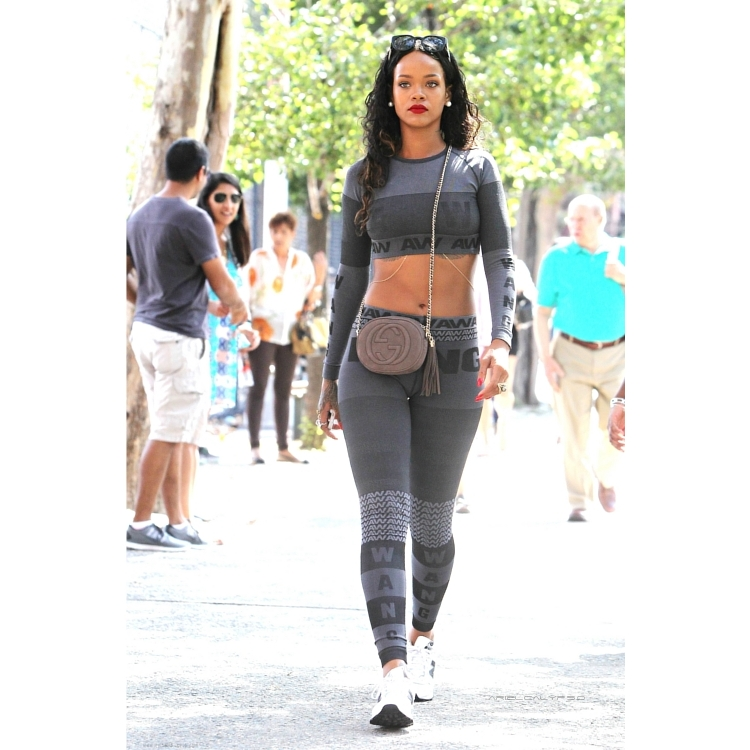 Rihanna Gives Us A Sneak Peek Of The Upcoming Alexander Wang X H M Collaboration