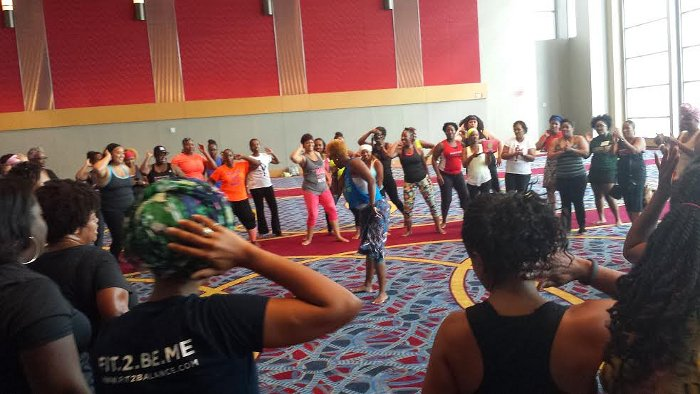 I Attended A Fitness Conference For Black Women. And Experienced Some U.N.I.T.Y. by Quisha E'lom.