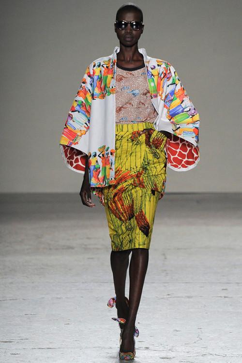 Stella Jean Spring 2015, Black Fashion Designers