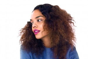 """Tessa Thompson, Star of """"Dear White People"""" Features in Refinery 29.  Talks About How She Identifies With Her Character."""