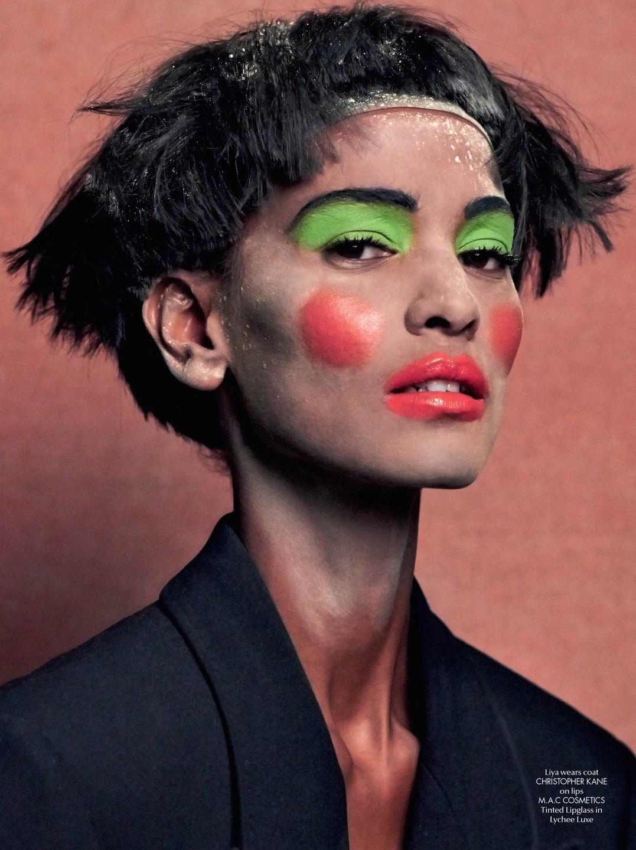 Editorials. Liya Kebede. Imaan Hammam. Grace Mahary. CR Fashion Book #5. by Johnny Dufort.