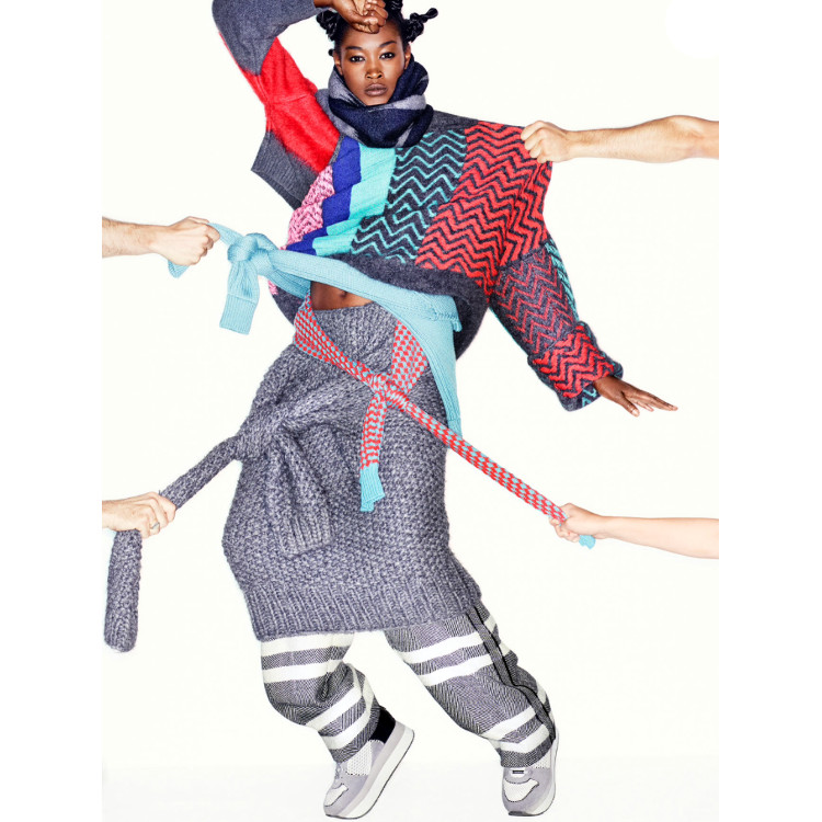 Betty Adewole, Black Fashion Models, Stylist, Jonty Davies