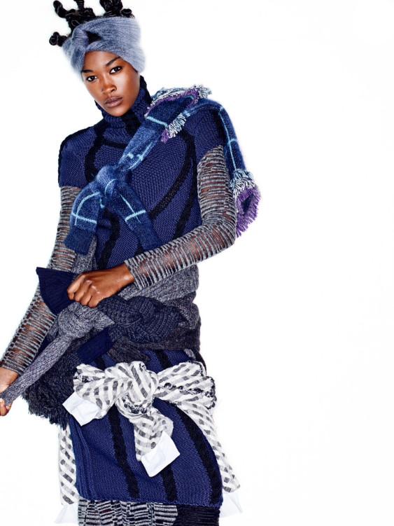 Betty Adewole, Black Fashion Models, Stylist, Jonty Davies
