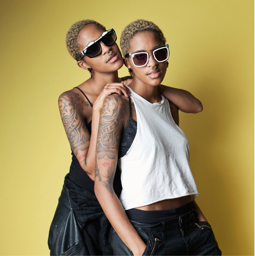 Coco and Breezy, Suzanne Darcy, Nylon Magazine