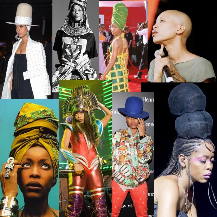 Erykah Badu, Erykah Badu Fashion - FASHION: 15 Years Of Fashion With Erykah Badu Neo-Griot