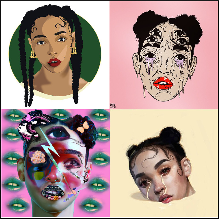 Fka Twigs Art Superselected Black Fashion Magazine Black Models Black Contemporary Artists