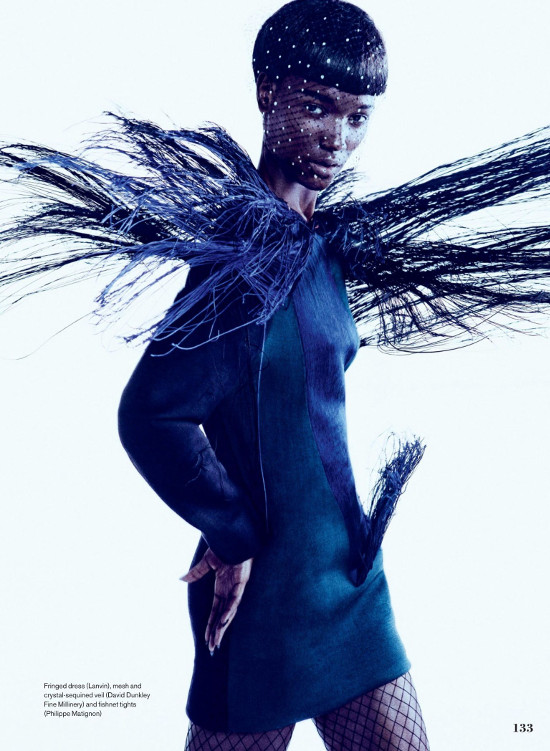 Herieth Paul, Owen Bruce, Elle Canada, Black Fashion Models