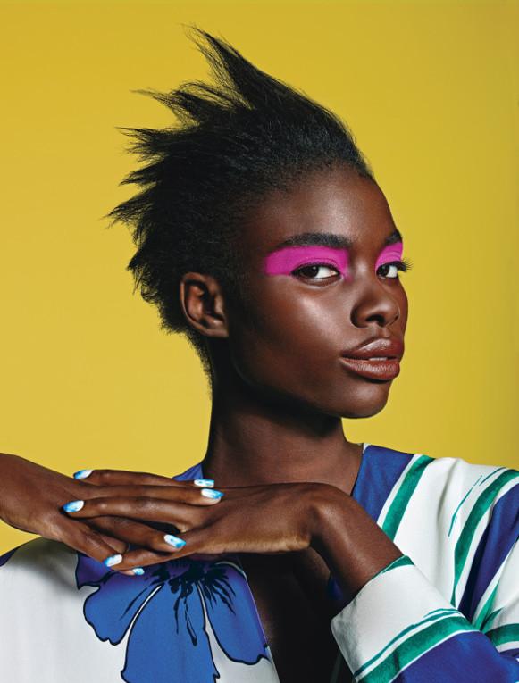 Jeneil Williams, Herieth Paul, Tosh Bellington, Ajak Deng, Riley Montana, Kai Newman, Black Fashion Models, W Magazine, Richard Burbridge