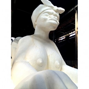 Quick Quotes.  Kara Walker on Reactions To her Giant Sugar Sphinx.