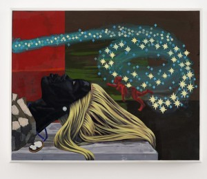 Art. Kerry James Marshall at David Zwirner.  Look See.