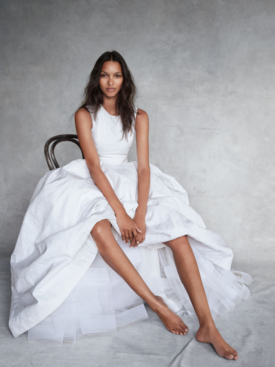 Lais Ribeiro, Vogue UK, Patrick Demarchelier