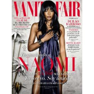 Editorials.  Naomi Campbell. Vanity Fair España. by Nico Bustos.