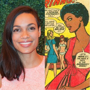 Rosario Dawson's Role in Upcoming Series 'Daredevil' Announced.