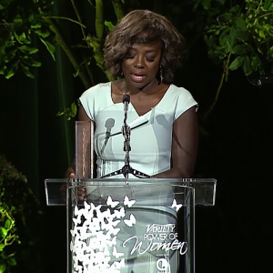 Watch It.  Viola Davis' Emotional Speech About Experiencing Hunger as a Child.