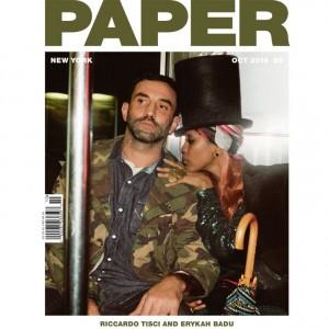 Erykah Badu.  Riccardo Tisci.  Paper Magazine. Image by Theo Wenner.