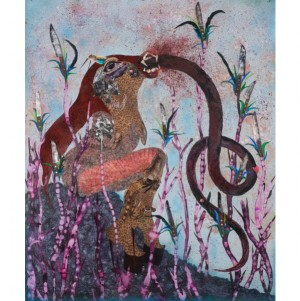 Art. Wangechi Mutu Goes Underwater with 'Nguva na Nyoka'.