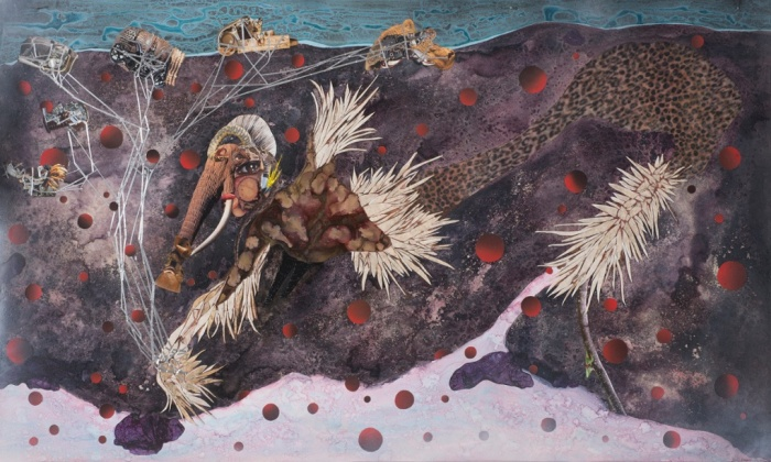 Wangechi Mutu, Black Woman Contemporary Artists, Nguva na Nyoka