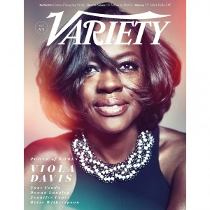 "Viola Davis Covers 'Variety' for the ""Power of Women""."