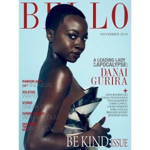 Editorials.  Danai Gurira Covers BELLO Magazine. November 2014. Issue #63.  Images by Aleksandar Tomovic + J. Horton.