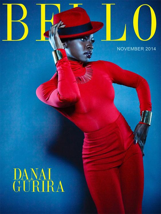 Danai Gurira, Bello Magazine, Aleksandar Tomovic + J. Horton