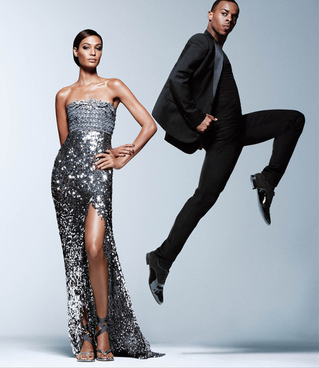 Model joan smalls and dance pioneer lil buck are poetry in motion