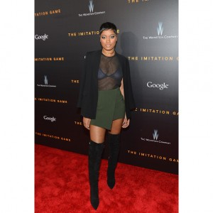 Paparazzi Files.  Keke Palmer Hits the Red Carpet in New York.