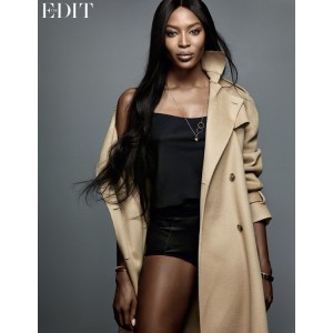 Editorials.  Naomi Campbell.  The Edit.  by Nico.