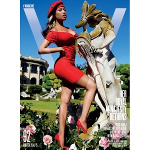 Editorials.  Nicki Minaj is Fierce in V Magazine. Images by Mario Testino.