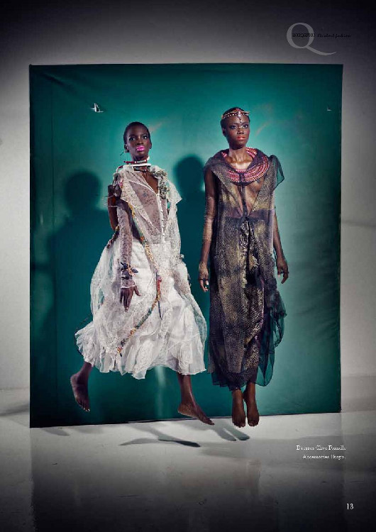 Opeyemi, Aamito Stacie Lagum, Jurie Potgitier, Black Fashion Models, Fashion South Africa
