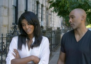 "First Look.  Scenes From Datari Turner's ""Supermodel.""  A Modern-Day ""Mahogany"" starring Tyson Beckford and Sessilee Lopez."