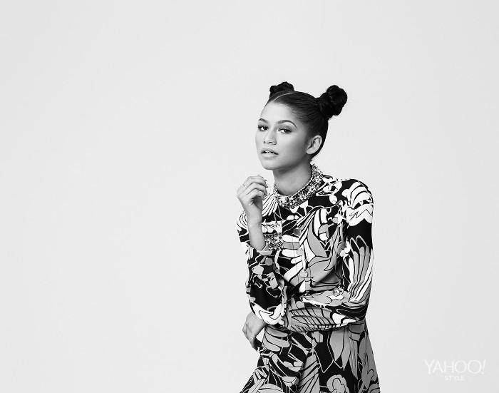Zendaya yahoo style colette mcintyre 03 superselected black fashion magazine black models black contemporary artists art black musicians