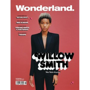 Willow Smith Covers Wonderland Magazine's November/December 2014 Issue.