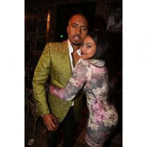 Nas' Daughter Destiny Jones Launches 'Lipmatic' Lip Gloss Line.