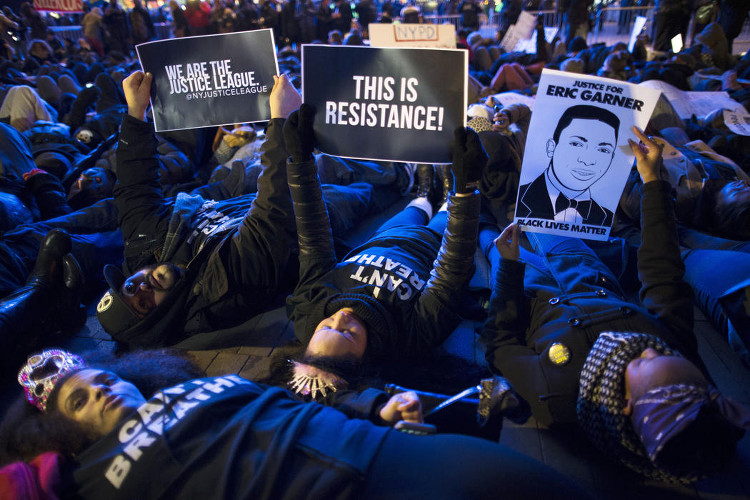 Barclays Center Protests
