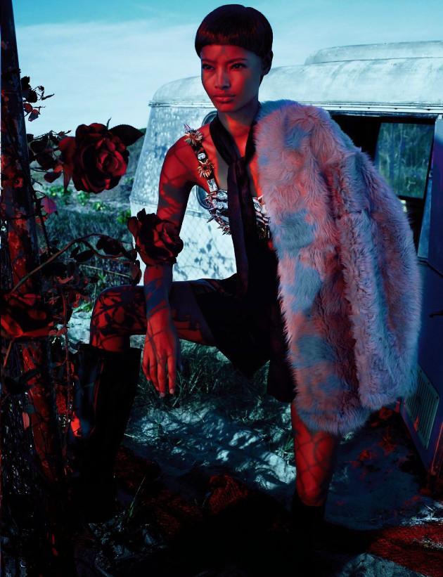 Malaika Firth, Txema Yeste, Black Fashion Models