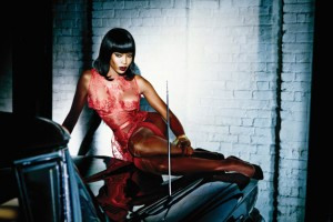 Naomi Campbell Stars in Agent Provocateur's SS15 Campaign. Images by Ellen Von Unwerth.
